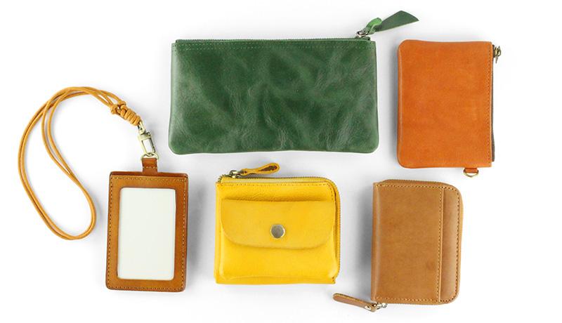 革小物(財布、パスケース、キーケース)