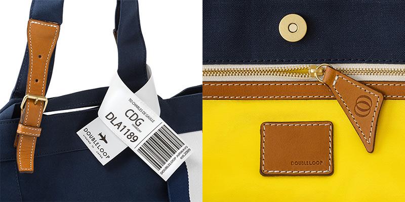 オトナの遊び心をくすぐる仕掛けが盛り沢山  ダブルループの人気頒布トートバッグ「JOURNEY resort」