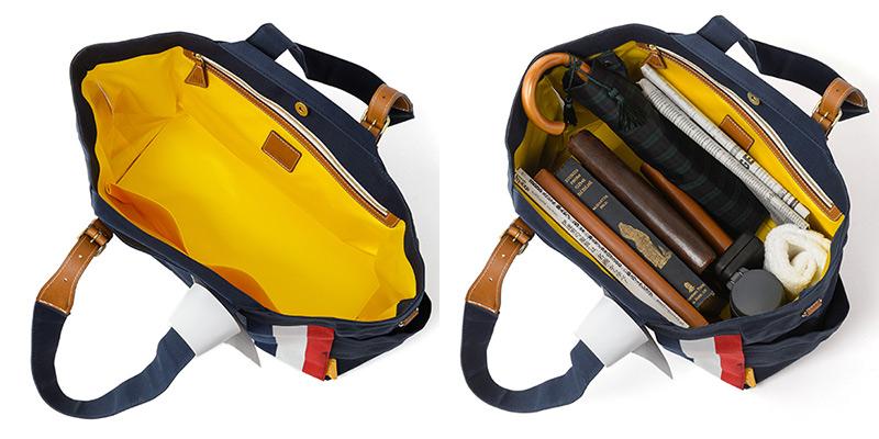 丈夫で大容量、しかも抜群の機能性!ダブルループの人気頒布トートバッグ「JOURNEY resort」
