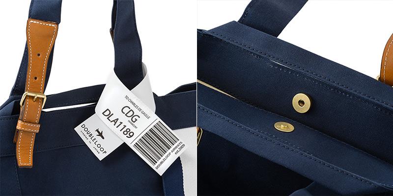 持ち手が休日の街歩きにピッタリな2WAY仕様  ダブルループの人気頒布トートバッグ「JOURNEY resort」