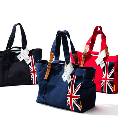 "【DOUBLELOOP】JOURNEY resort tote""LARGE""「イギリス」"