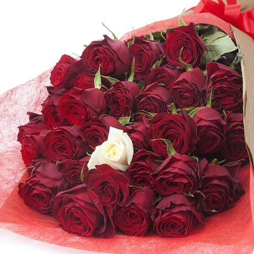 本数を選べるバラの花束ギフト