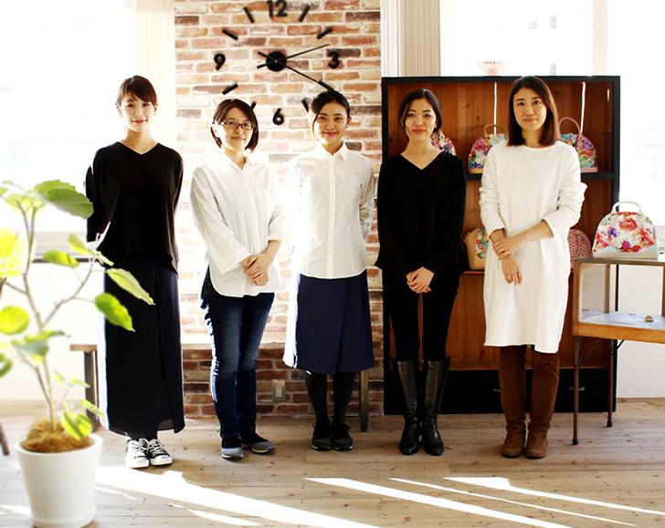 エーテルのデザイナーたち 全員女性