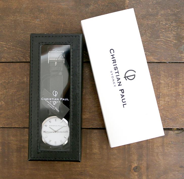 クリスチャンポール腕時計のギフトボックス-2
