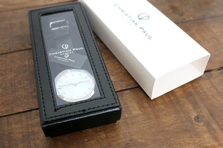 クリスチャンポール腕時計のギフトボックス-3