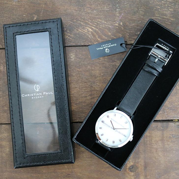 クリスチャンポール腕時計のギフトボックス-4
