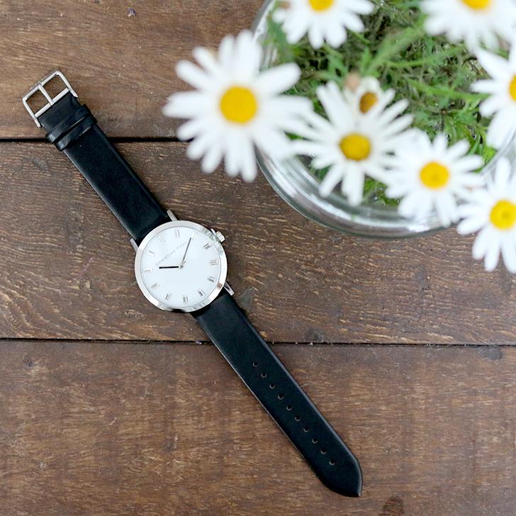 クリスチャンポール腕時計 ラグゼコレクション S003BKSV 43mm 商品レビュー 口コミ-1