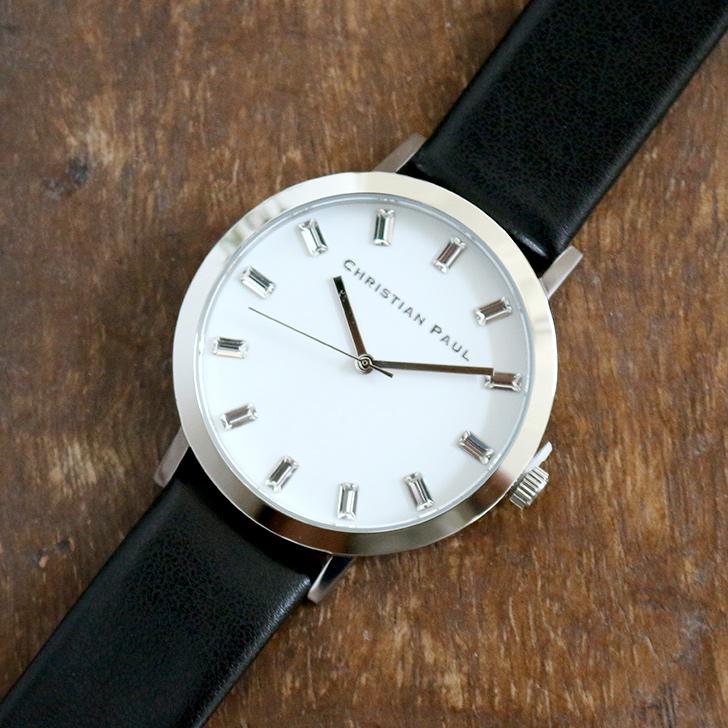クリスチャンポール腕時計 ラグゼコレクション S003BKSV 43mm 商品レビュー 口コミ-2