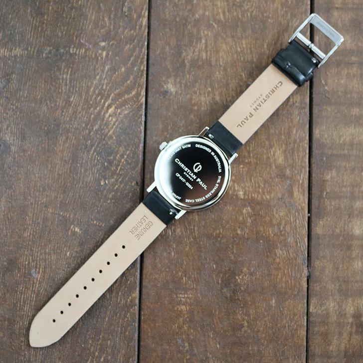 クリスチャンポール腕時計 ラグゼコレクション S003BKSV 43mm 商品レビュー 口コミ-5