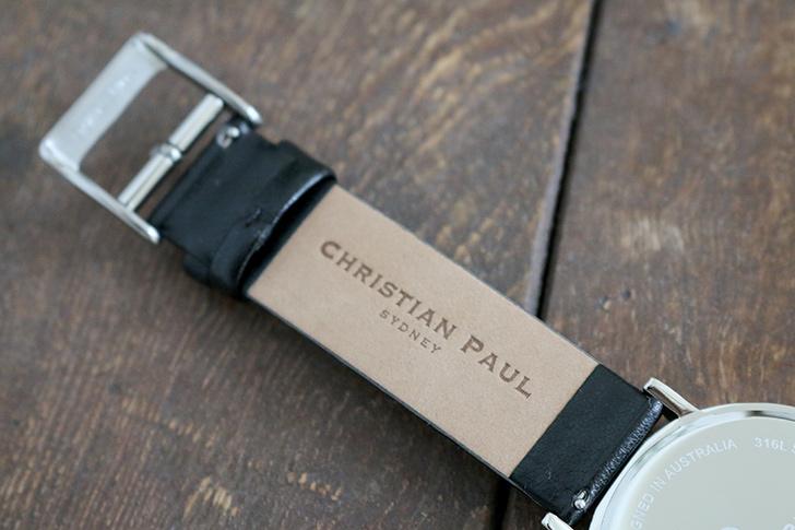 クリスチャンポール腕時計 ラグゼコレクション S003BKSV 43mm 商品レビュー 口コミ-6