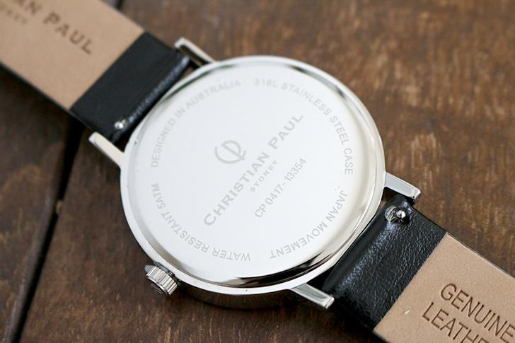 クリスチャンポール腕時計 ラグゼコレクション S003BKSV 43mm 商品レビュー 口コミ-7