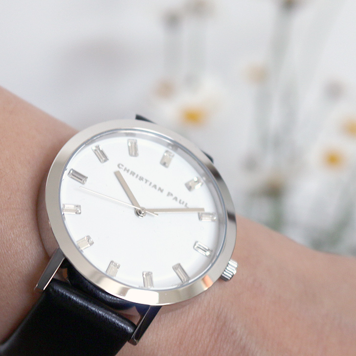 クリスチャンポール腕時計 ラグゼコレクション S003BKSV 43mm 商品レビュー 口コミ-9