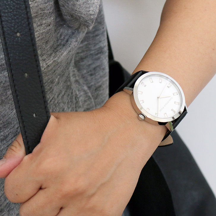 クリスチャンポール腕時計 ラグゼコレクション S003BKSV 43mm 商品レビュー 口コミ-10