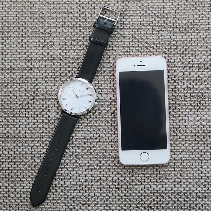 クリスチャンポール腕時計 ラグゼコレクション S003BKSV 43mm 商品レビュー 口コミ-12