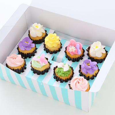 カップケーキ JiJiお花セット 10個セット