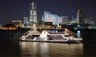 船上夜景クルージングディナー&ランチでサプライズ!