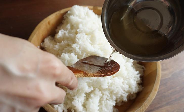 手まり寿司 作り方 レシピ 酢飯の作り方