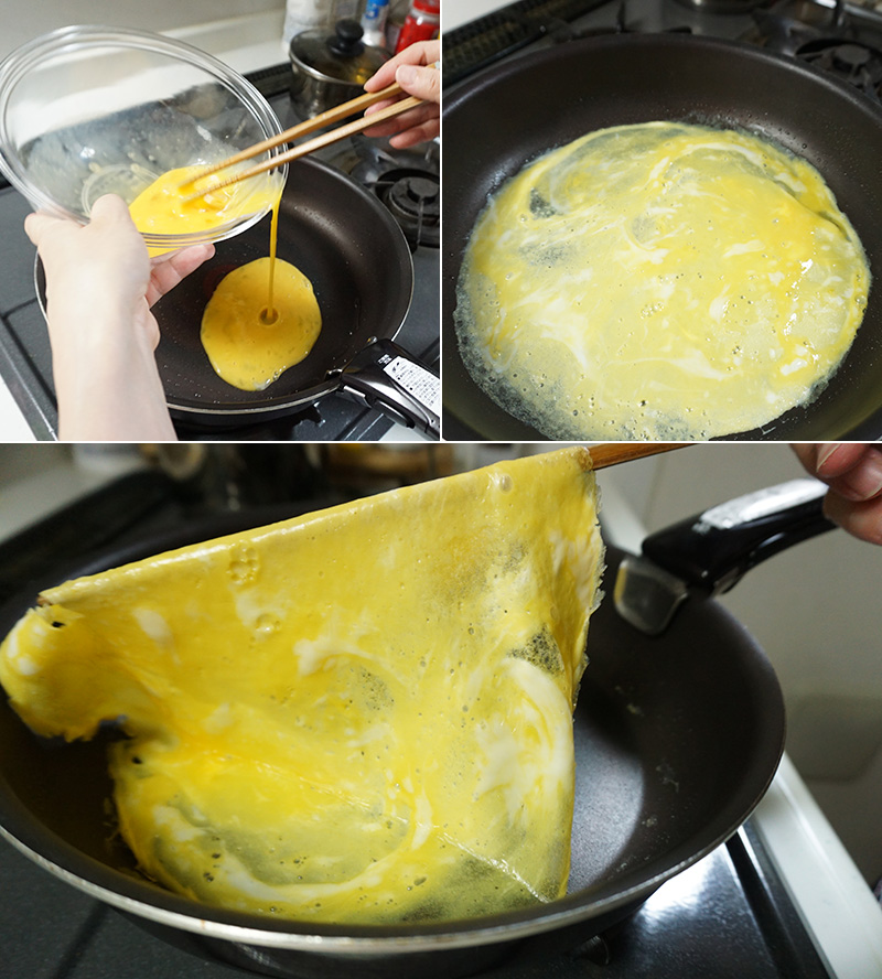 手まり寿司 作り方 レシピ 錦糸卵の作り方