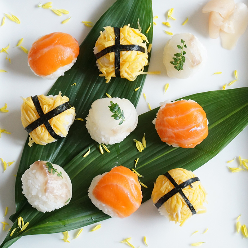 「手まり寿司」の作り方