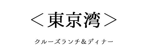 東京湾のクルーズディナー&ランチ