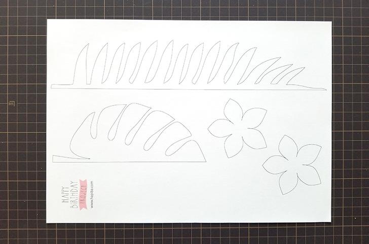 アロハ・ハワイアン・トロピカルなガーランドの作り方