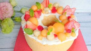 1歳の誕生日ケーキ 1歳の子供でも食べられるケーキ