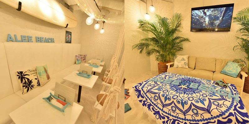 砂浜カフェ&バー アリービーチ 渋谷宇田川町店