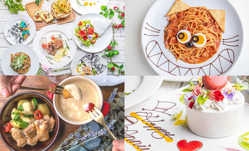 絵本の国のアリスの料理