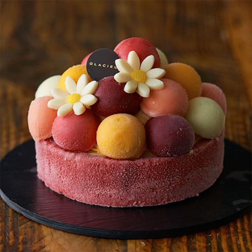 ルタオで人気No.1のアイスケーキ「バルーンドフリュイ」