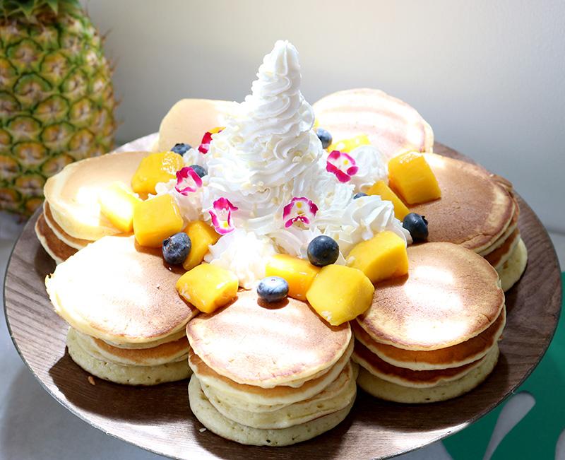 ハワイアンパンケーキ アロハ・ハワイをテーマにしたトロピカルな誕生日パーティー演出