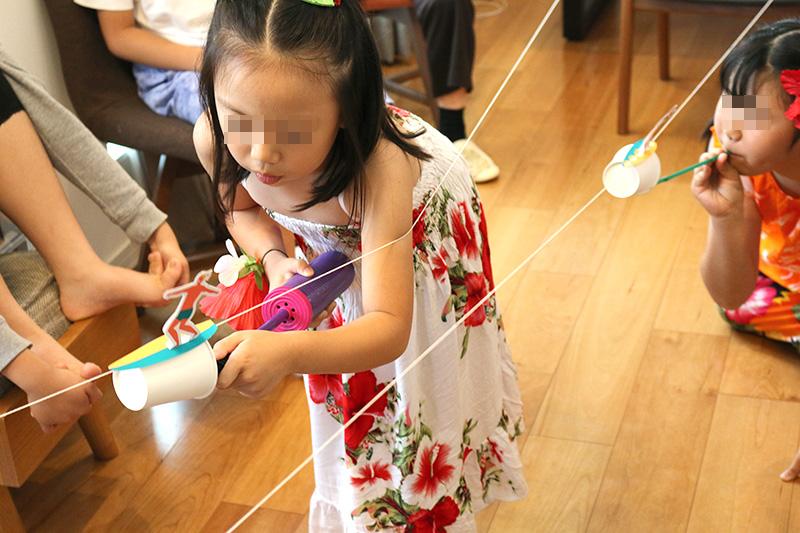 サーフィンレース アロハ・ハワイをテーマにしたトロピカルな誕生日パーティー演出