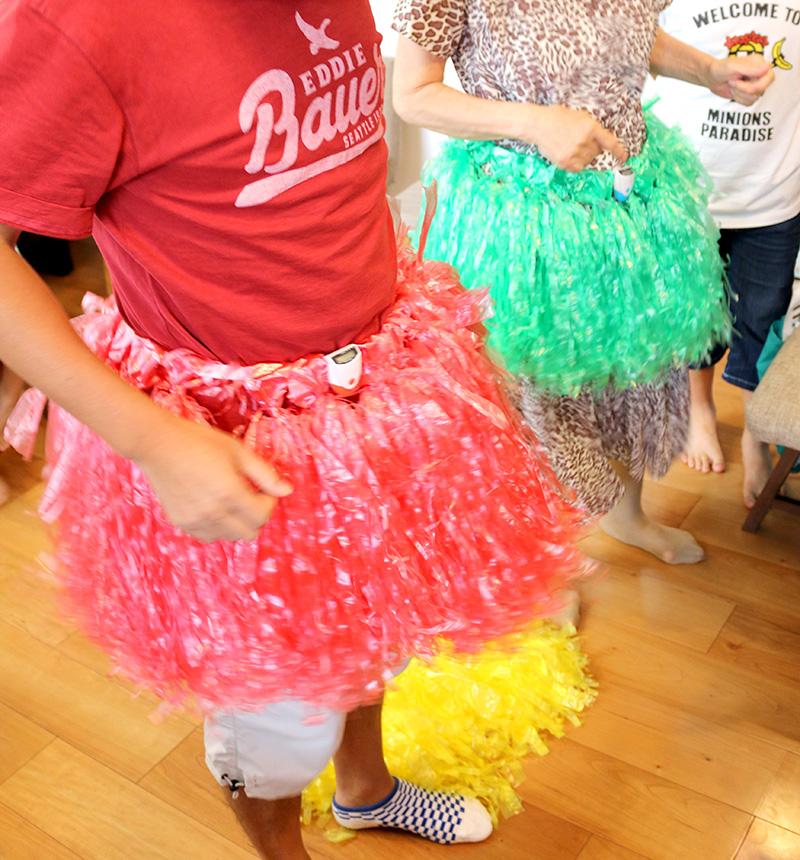 おしりプリプリ競争 アロハ・ハワイをテーマにしたトロピカルな誕生日パーティー演出