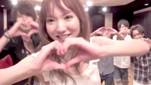 下田美咲の「バースデーソング~あなたが好きだから祝いたい~」で踊る動画の誕生日サプライズ