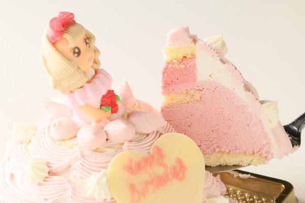 ドールケーキの中身 ムースケーキ