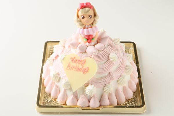メレンゲ人形を使ったドールケーキ