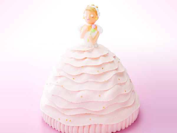 マイルストーン プリンセスケーキ
