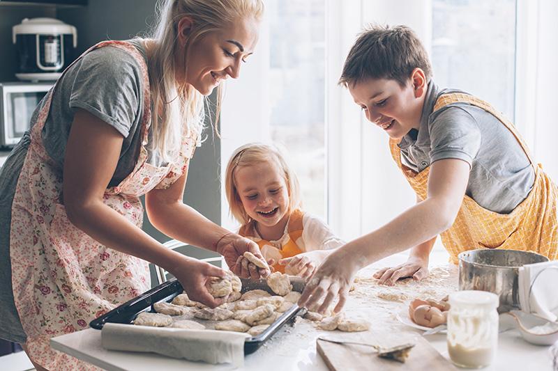 愛情いっぱいの手作り料理を、サプライズで振る舞う!