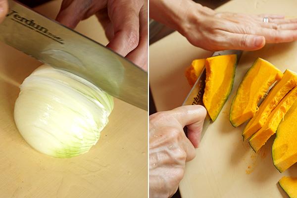 かぼちゃの皮ごとポタージュ 作り方