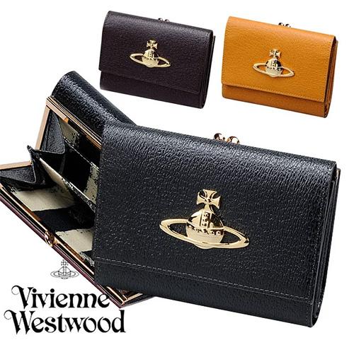 ヴィヴィアンウエストウッド  財布 二つ折り財布 がま口