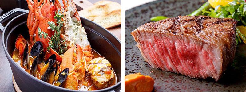 丸の内|BREEZE OF TOKYO ブリーズ・オブ・トウキョー 料理