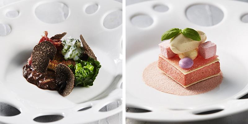 六本木|ピエール・ガニェール/ANAインターコンチネンタルホテル東京(フレンチ)ディナー料理イメージ
