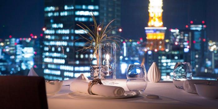 ピエール・ガニェール/ANAインターコンチネンタルホテル東京 Pierre Gagnaireから見える夜景