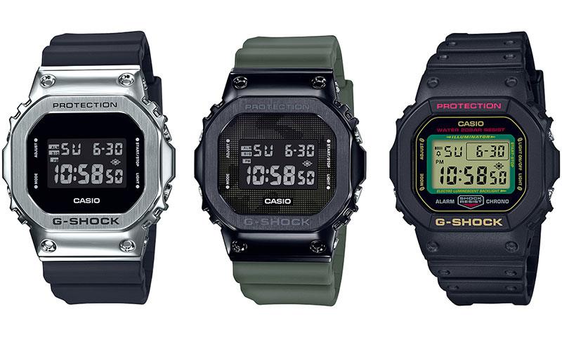 タフな男の腕時計と言えばやっぱりカシオの『G-SHOCK』