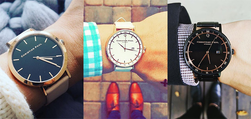 着せ替えカスタムーオーダー時計「クリスチャンポール(Christian Paul)」デザインいろいろ