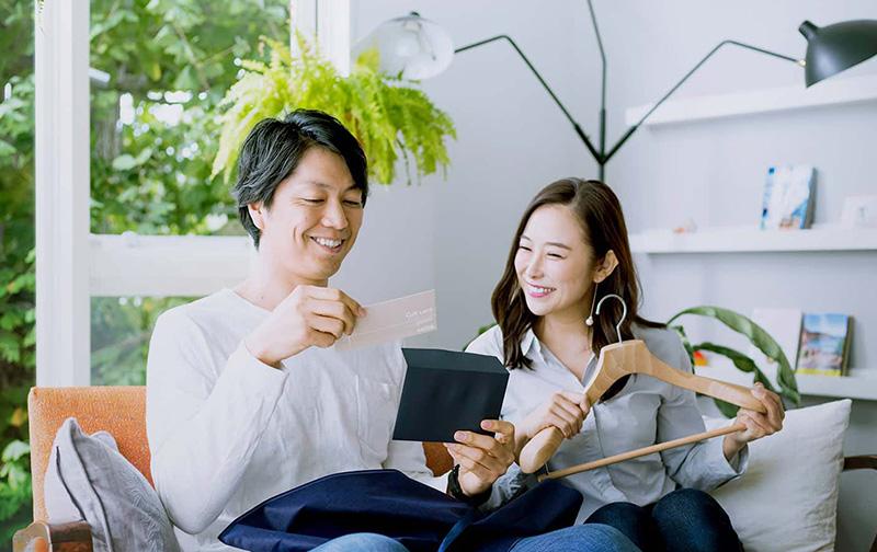 オーダーメイドビジネスウェアのFABRIC TOKYO「ギフトカード for SHIRTS」