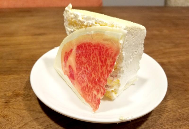 肉ケーキ 和牛サーロインケーキ 1ピース 肉添え