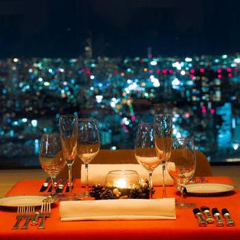 新宿|ワイン&ダイニング デュークのクリスマスディナー