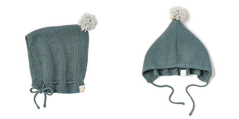 ボンネ型ニット帽 マールマール