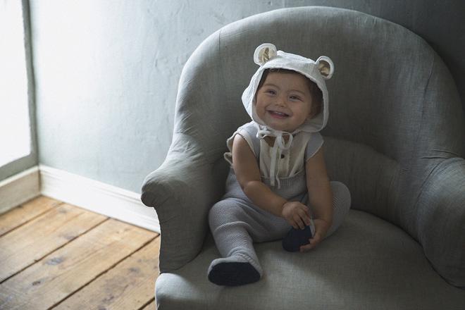 マールマール ボンネ型のクマの帽子