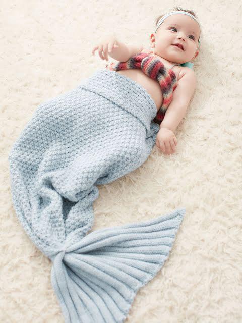 【Kids Foret】人魚アフガン